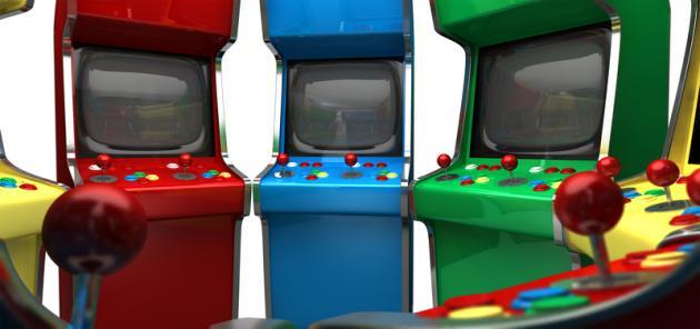 2 Spieler Arcade Videospiel Automat