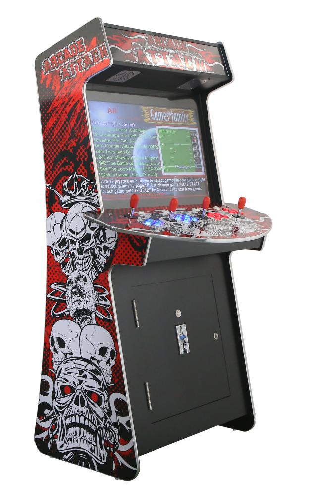 4 Spieler Arcade Videospiel Automat